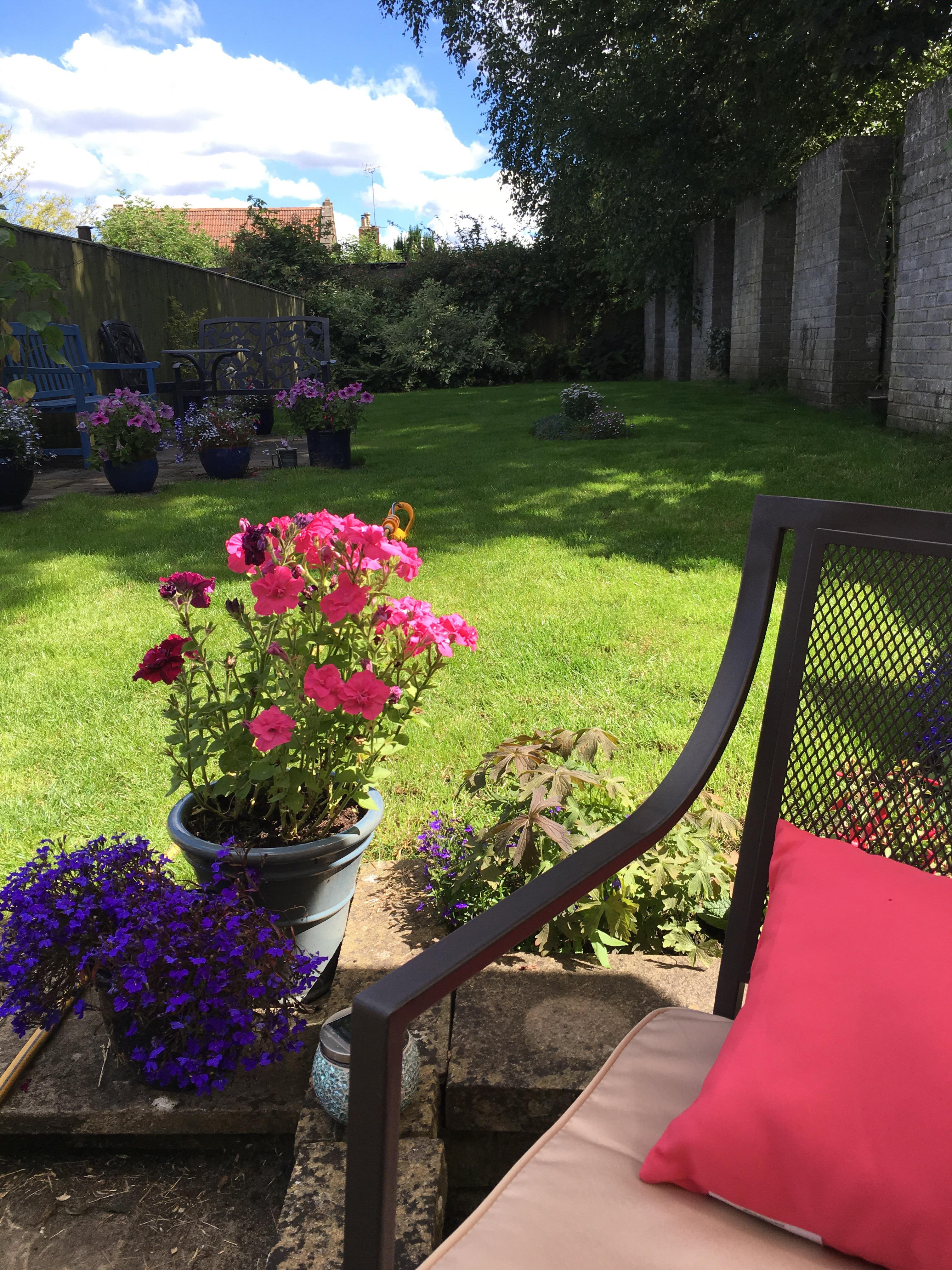 Homebase Garden Daybed : Garden update mollie claire